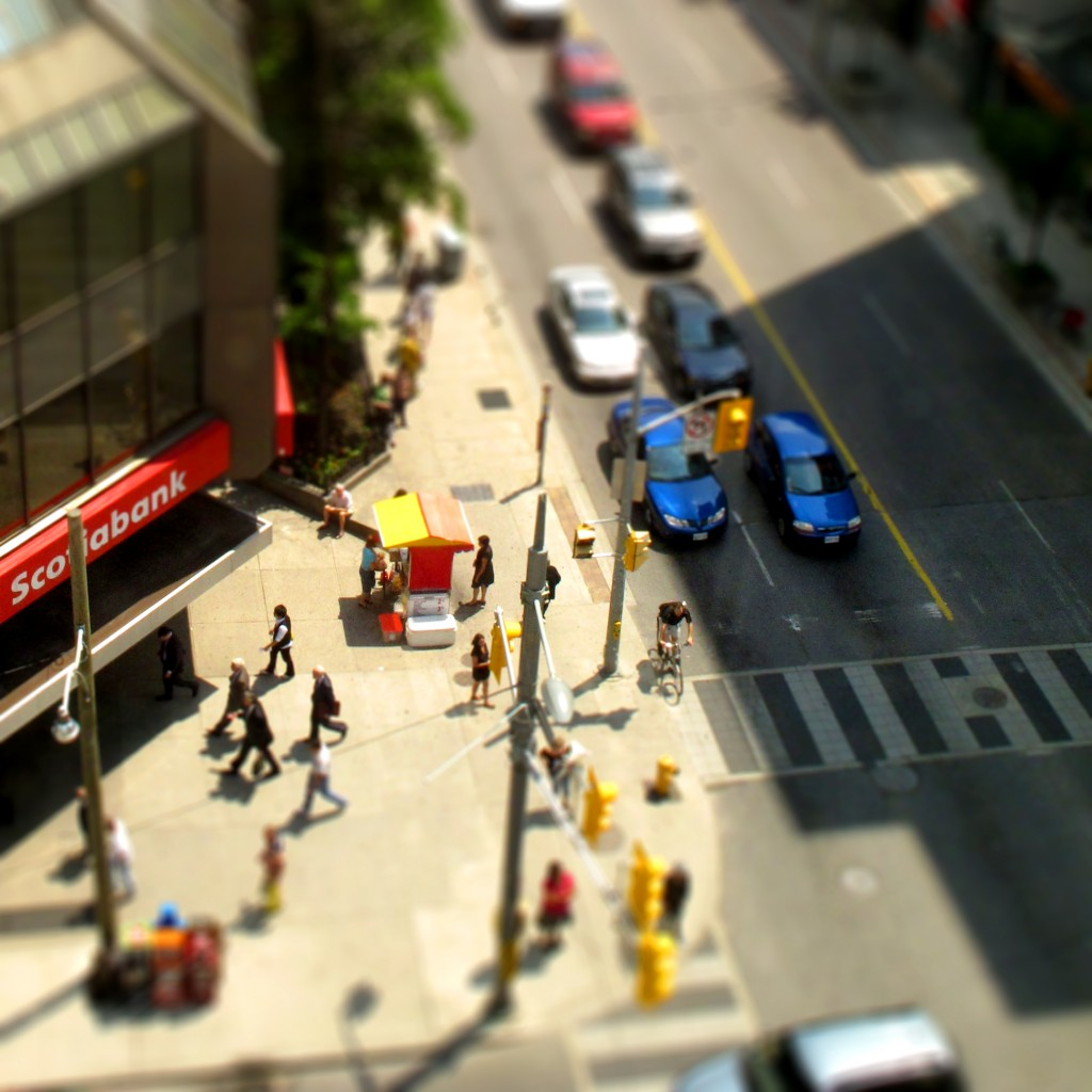 Efecto Tilt Shift