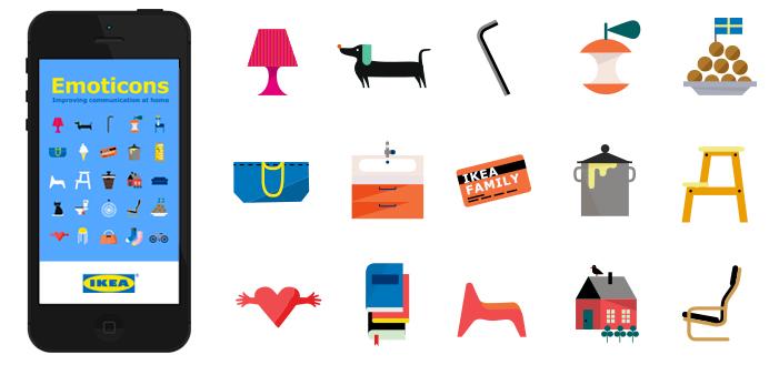 Foto de los emoticonos de IKEA