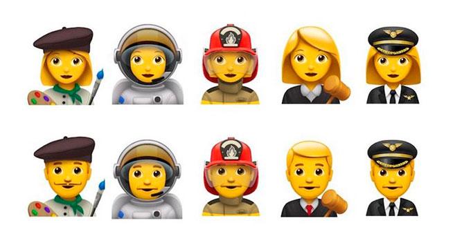 emojis professions