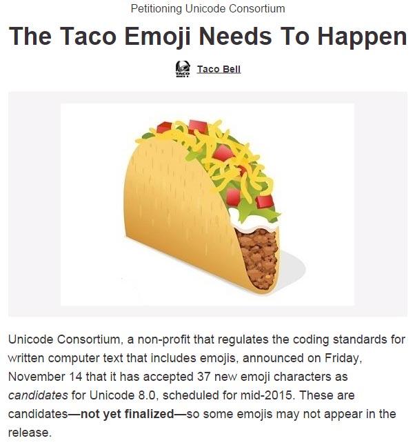 emoji taco