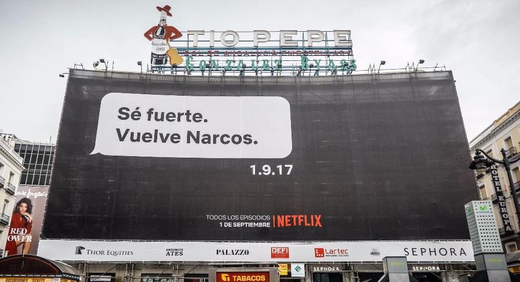 Campaña Netflix, sé fuerte