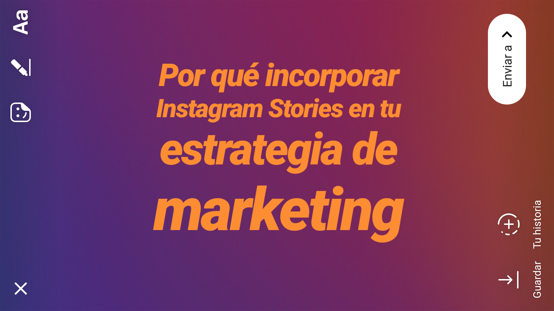 campañas de stories