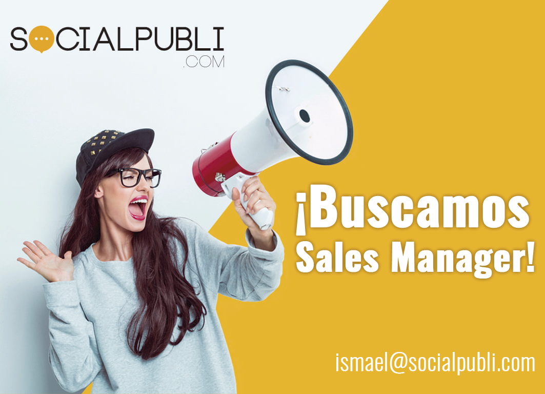buscamos sales manager
