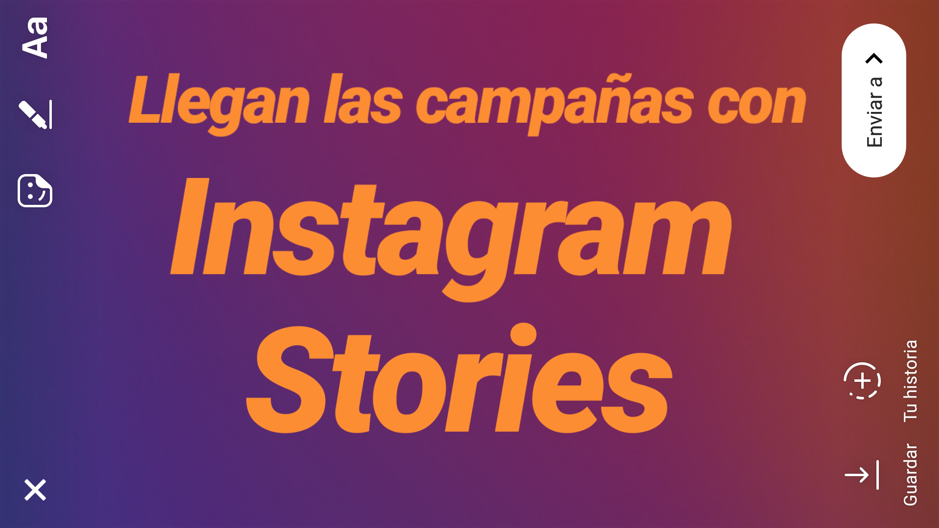 campañas con stories
