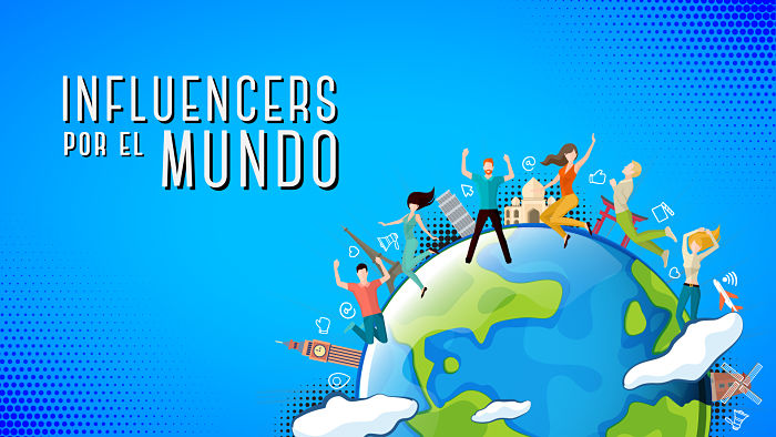 influencers por el mundo