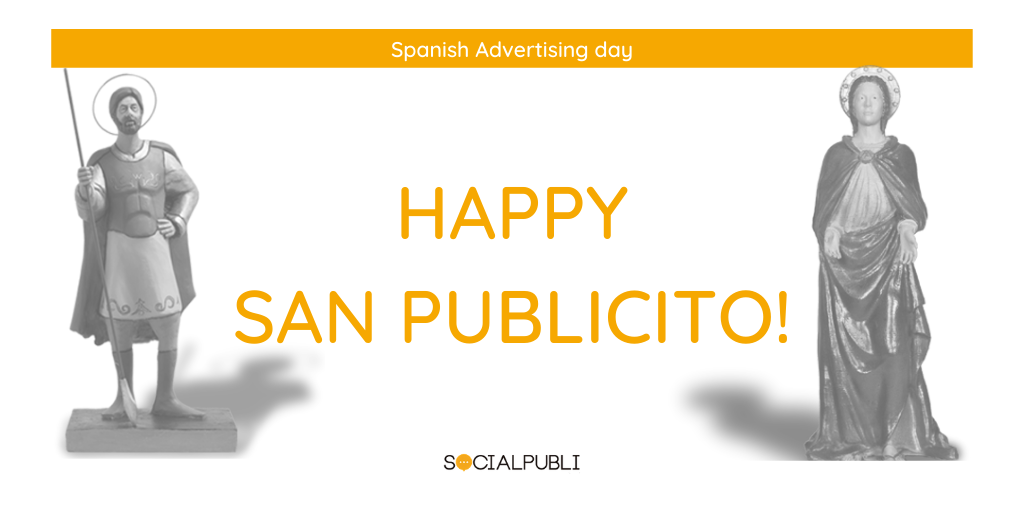 Happy San Publicito, spanish advertising saint