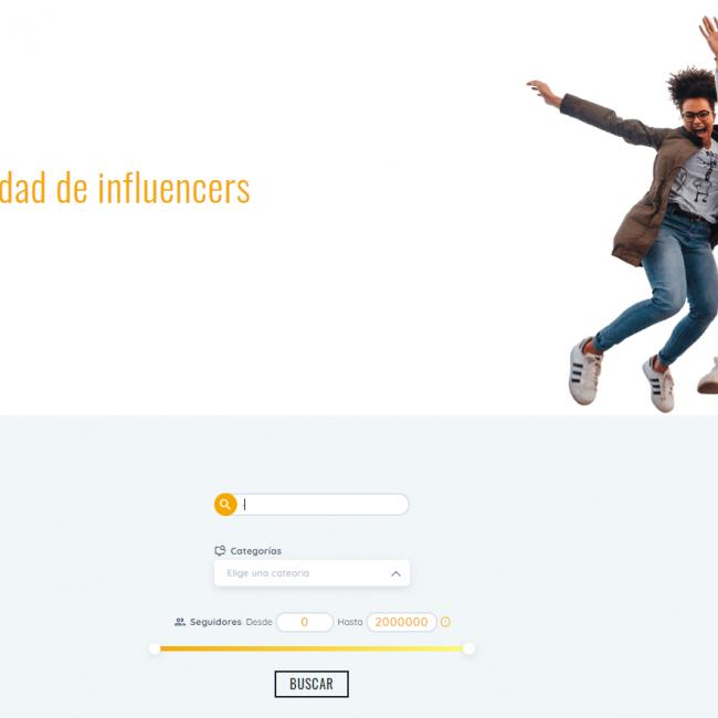 El buscador de influencers de SocialPubli