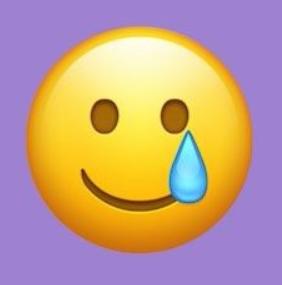 El nuevo emoji sonriendo con una lágrima