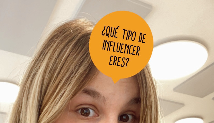 Así se ve nuestro filtro Influencer en Instagram Stories