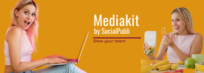 New MediaKit by SocialPubli: your portfolio in 5 minutes