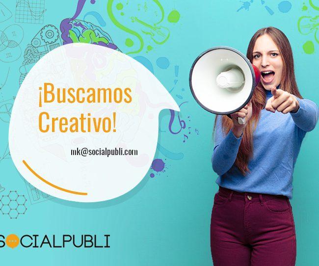 Buscamos creativo