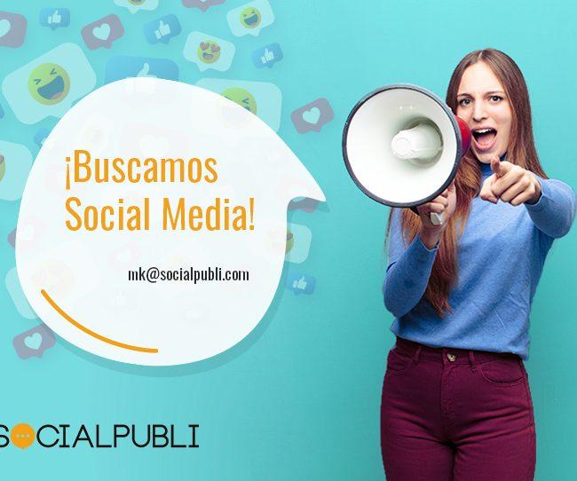 únete a nuestro equipo de Socialmedia en madrid
