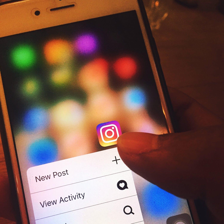 foto de aplicación de Instagram